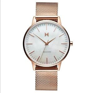 MVMT Boulevard Womens Watch - Rose Gold